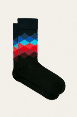 Happy Socks - Ponožky Faded Diamond