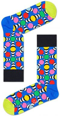 Happy Socks - Ponožky Illusion Big Dot Sock