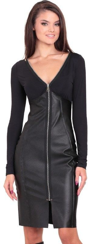78dccf0f4eca Eidos Dámske šaty ROBE 93 XENA SKIN BLACK značky Eidos - Lovely.sk