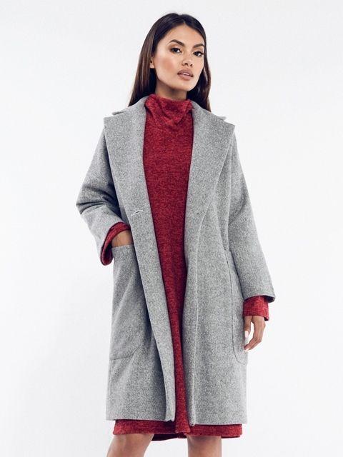 Rita Koss Dámsky kabát RK63 GREY značky Rita Koss - Lovely.sk 349bf26039