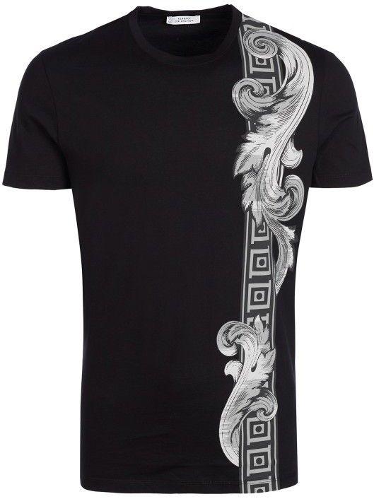 Versace Collection Pánske tričko 378.50128-black značky Versace Collection  - Lovely.sk 55247b06993