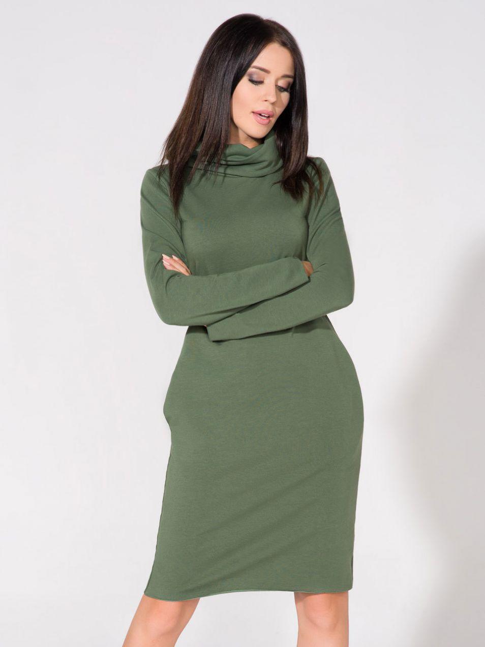 2dcf80bc9bab Tessita Dámske šaty T147   5 Green značky Tessita - Lovely.sk