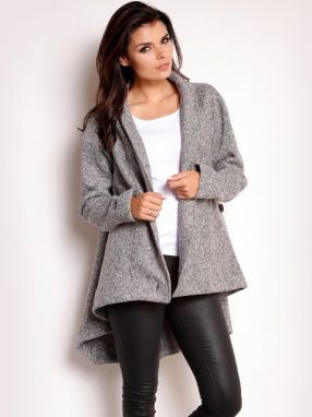 Infinite You Dámsky kabát COAT M108 GREY