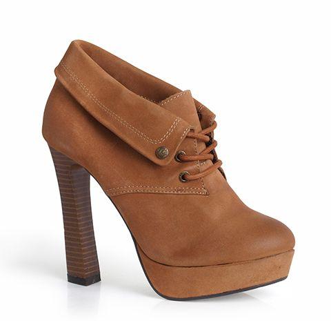 f1a22b6280279 Bruno Banani Dámske členkové topánky 4ABP001633_brown značky BRUNO BANANI -  Lovely.sk