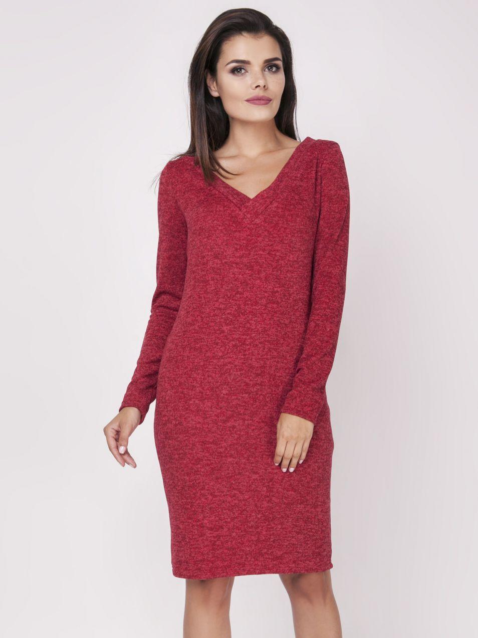 c4e521d4476c Foggy Dámske šaty FG103 RED značky Foggy - Lovely.sk