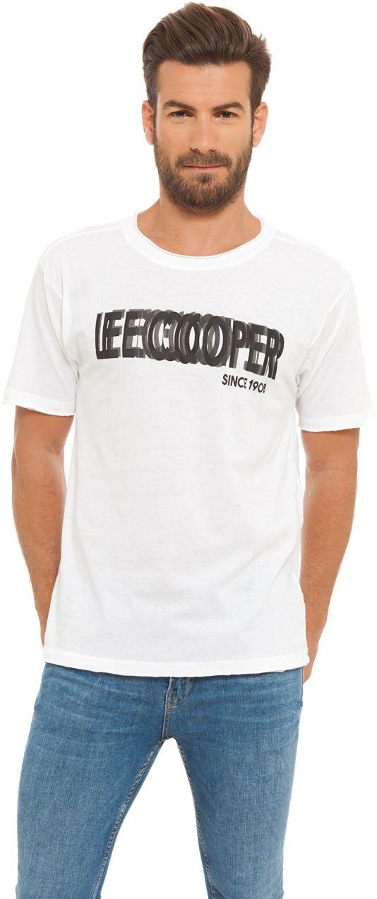 Lee Cooper Pánske tričko LCM00224 WHITE značky Lee Cooper - Lovely.sk f427cc17c67