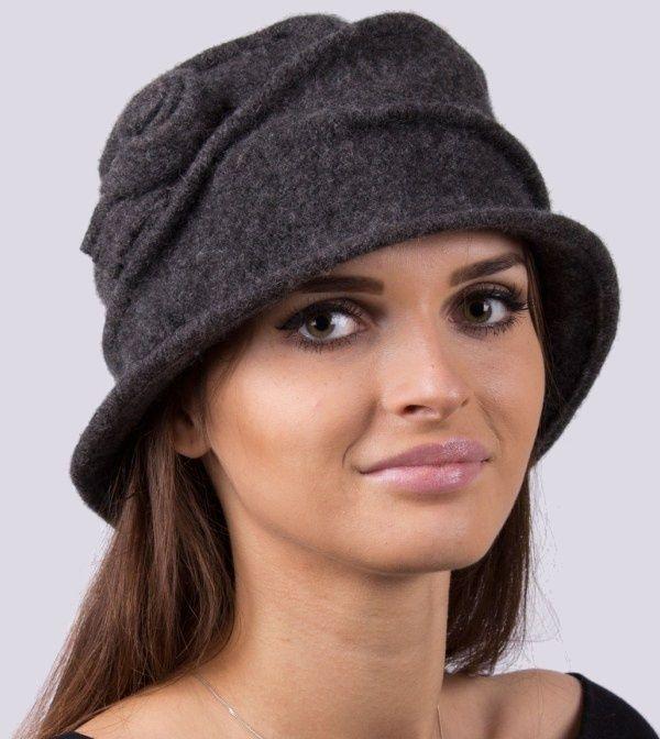 3542f77b4 EMC Dámsky zimný klobúk H028 HAT GRAPHITE značky EMC - Lovely.sk