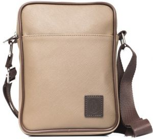 Trussardi Collection Pánska crossbody taška U66TRC00001_TAUPE