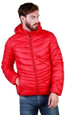 Geographical Norway Pánska bunda Dowson_hood_man_red
