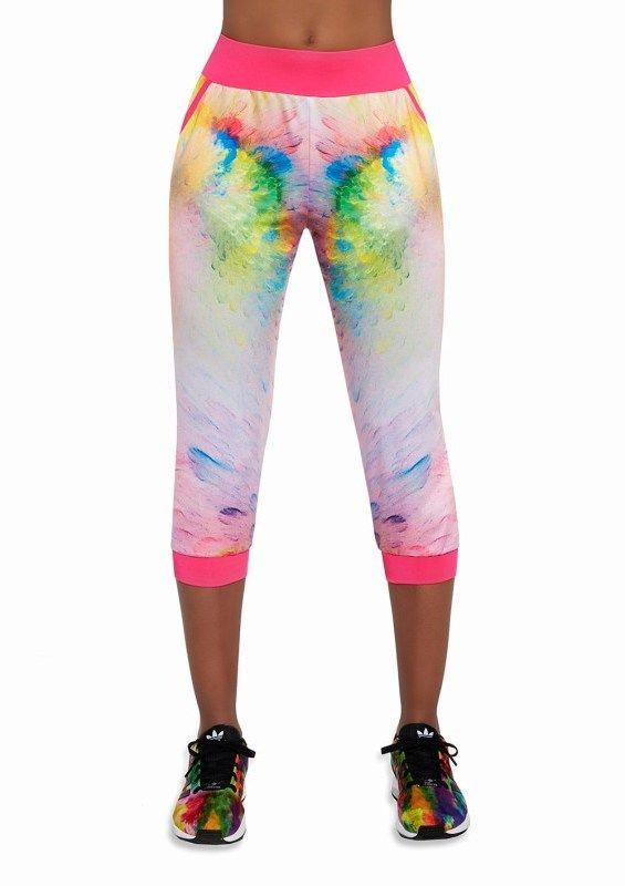 75acfc137397 Bas Black Dámske 3 4 športové nohavice EXOTIC-multicolor značky Bas ...