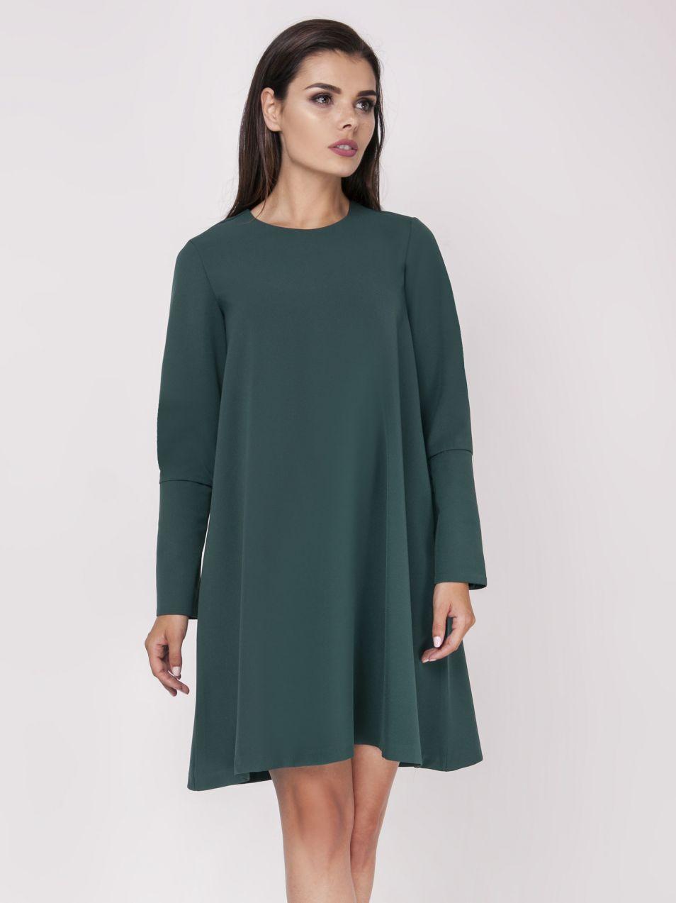 e886c4ea7d20 Foggy Dámske šaty FG105 GREEN značky Foggy - Lovely.sk