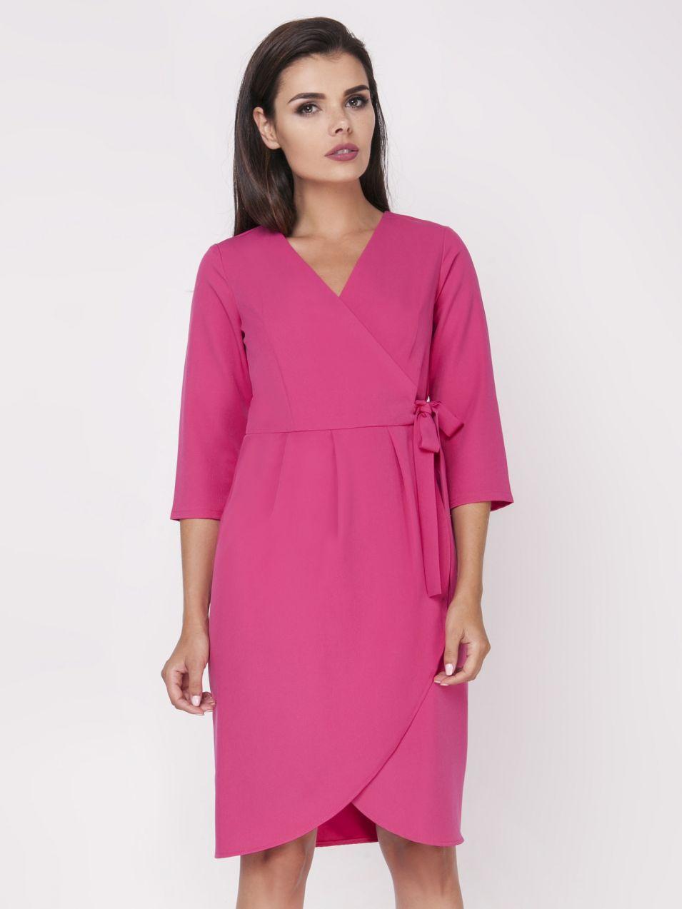 Foggy Dámske šaty FG109 PINK značky Foggy - Lovely.sk 185c3e49857