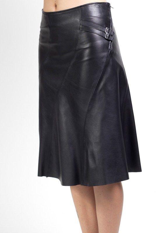 915139b3f8 Giorgio Dámska kožená sukňa MARIELLE NOIR značky Giorgio - Lovely.sk