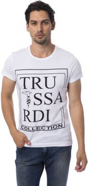 Trussardi Collection Pánske tričko M8 FISCAGLIA_Bianco / White