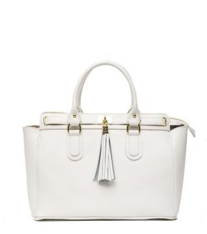 Trussardi Collection Dámska kabelka D66TRC1002_Bianco / White