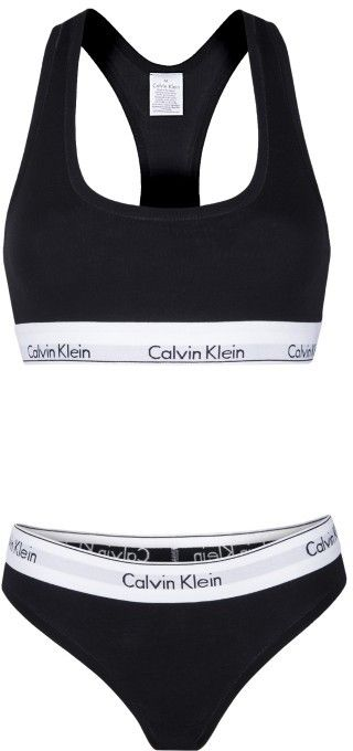 ae37d441a2 Calvin Klein Set podprsenky a nohavičiek CA1841223 Black značky Calvin Klein  - Lovely.sk