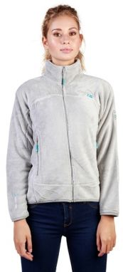 Geographical Norway Dámska mikina Uniflore_woman_lightgrey