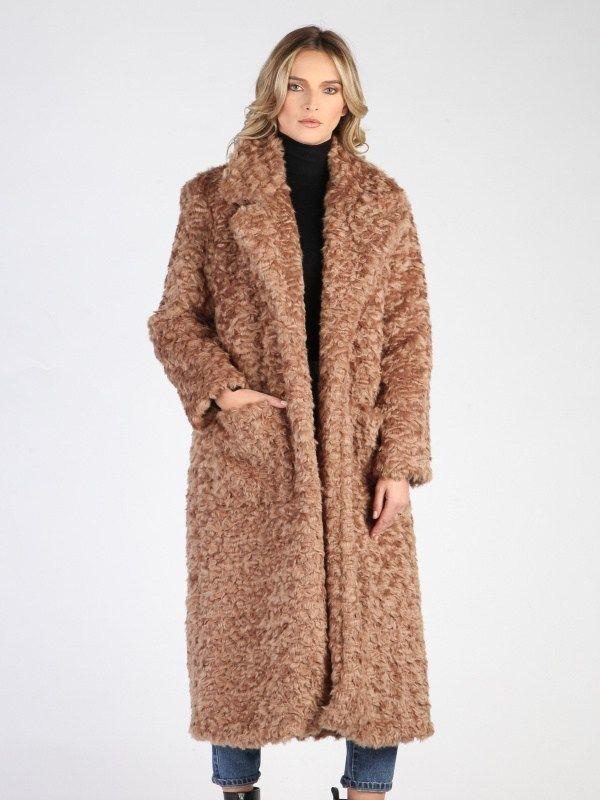 Carla by Rozarancio Dámsky kabát CR18F P3067 CAMEL značky Carla by  Rozarancio - Lovely.sk 2d208a3eb90