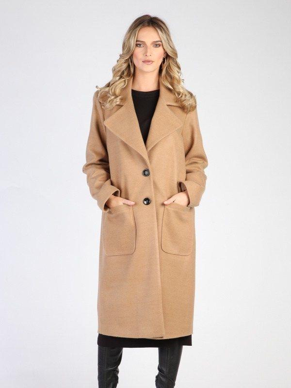 Carla by Rozarancio Dámsky kabát CR18F P3121 CAMEL značky Carla by  Rozarancio - Lovely.sk ed5c0532102