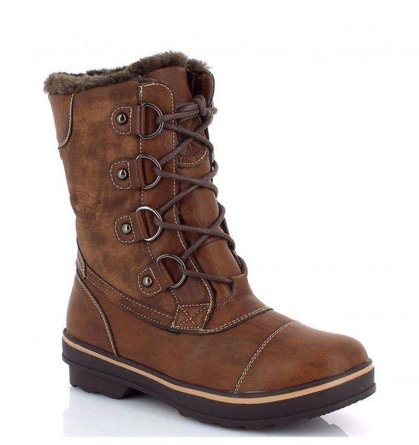 ec3064233e7af Kimberfeel Dámske členkové topánky SYLVIE_BROWN značky Kimberfeel -  Lovely.sk