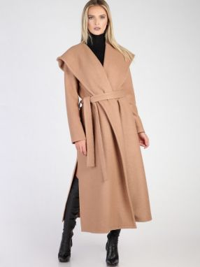 Carla by Rozarancio Dámsky dlhý vlnený kabát 54d2b645af9