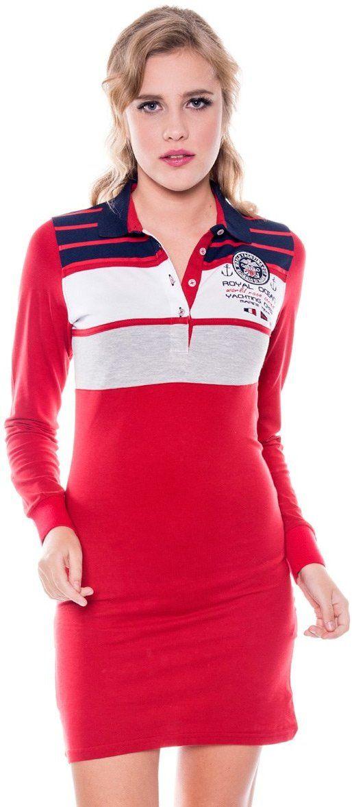 Giorgio Di Mare Dámske šaty GI575731 Red značky Giorgio Di Mare - Lovely.sk 5f9295b6e2f