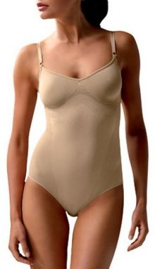 Controlbody Tvarujúci body bez výstuže BODY WITH FINE STRAPS 510117 FIRM COMPRESSION SKIN