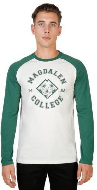 University of Oxford Pánske tričko Magdaléna-RAGLAN-ML-GREEN