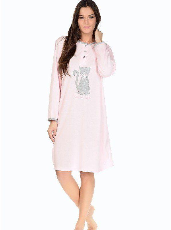 153201ef0cd8 Kiki Dámska nočná košeľa 174-KAN ROSE značky Kiki - Lovely.sk