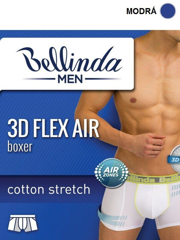 3625b5c04a Bellinda Pánske boxerky 3D FLEX AIR BOXER BU858208-352 značky Bellinda -  Lovely.sk