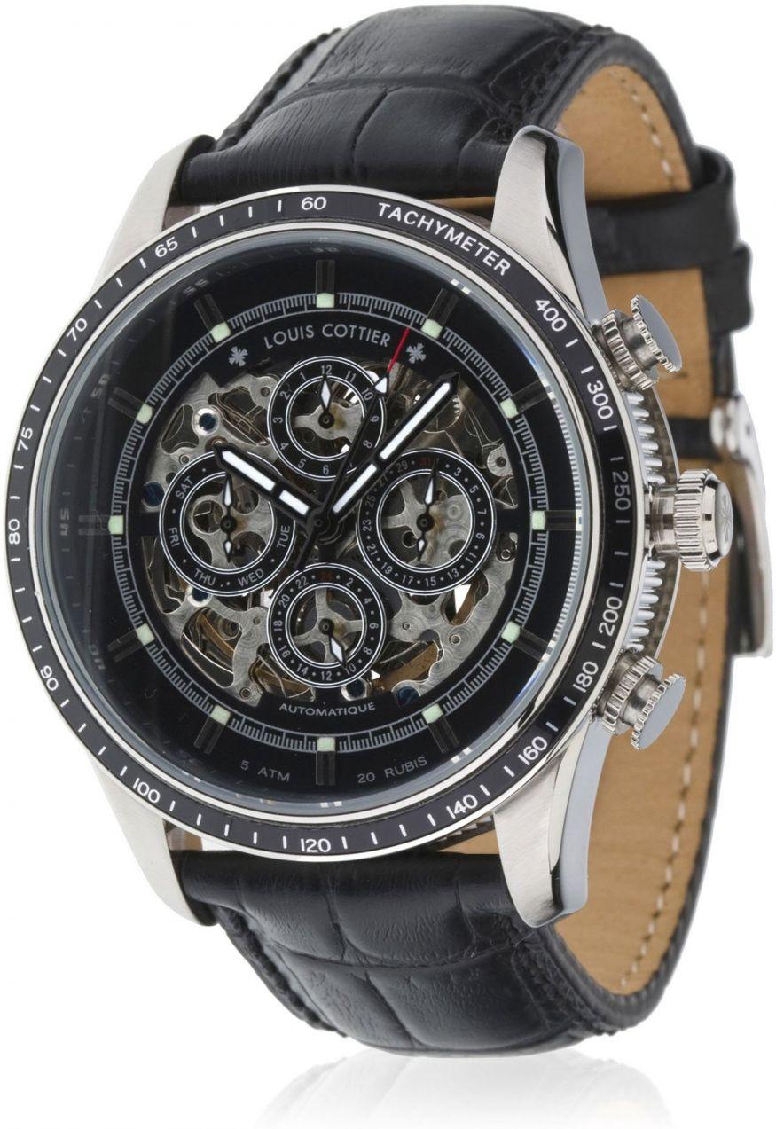 89db98faf93 Louis Cottier Pánske automatické hodinky HB3630C1BC1 značky Louis ...