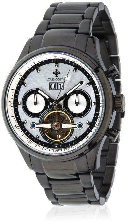 fc87a0f02fb Louis Cottier Pánske automatické hodinky HB3521C2BM2 značky Louis ...