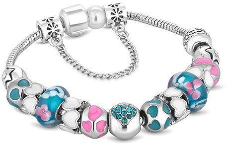 Diamond Style Dámsky náramok TREASUREBRAPINKNTURQ značky Diamond Style -  Lovely.sk e793da4a84e