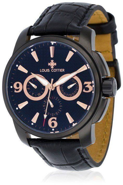 7e676d0a6e0 Louis Cottier Pánske automatické hodinky HB3461C1RBC1 značky Louis ...