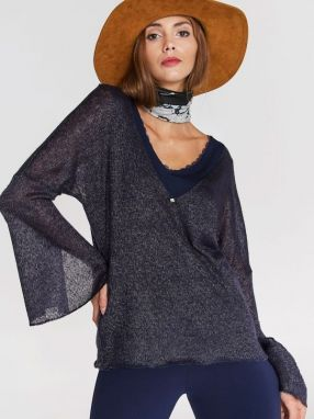 Blue Shadow Dámsky sveter sweater_miux_dark blue