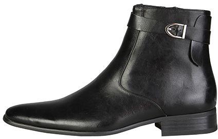 VERSACE 19.69 Pánske členkové topánky s prackou CASPER NERO značky VERSACE  19.69 - Lovely.sk 74871de89b