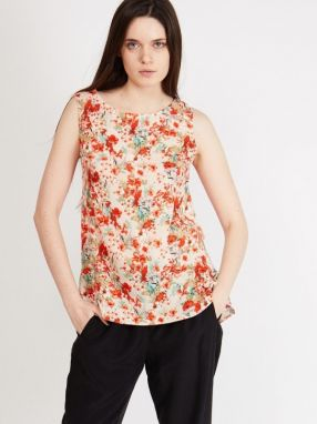 Margo Collection Dámsky top Bl.9a-multicolor