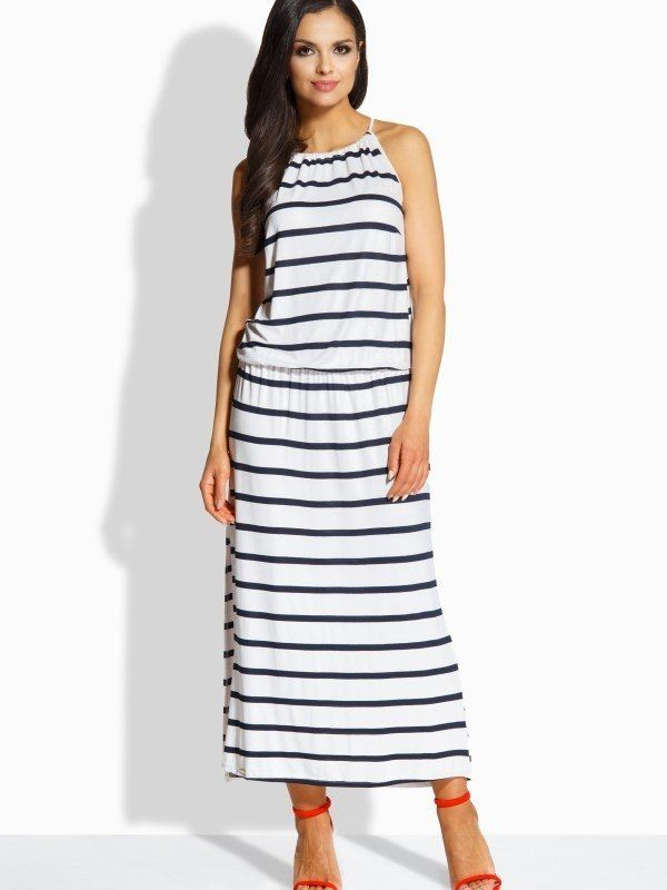 Lemoniade Dámske šaty L213 granatowy.bialy-navy.white značky Lemoniade -  Lovely.sk 725e2f5d71e