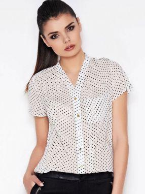 Awama Dámska košeľa A71 ecru značky Awama - Lovely.sk 944c8e71683