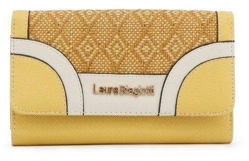 Laura Biagiotti Dámska peňaženka LB18S517-39 SENAPE značky Laura Biagiotti  - Lovely.sk 85a8e21448a