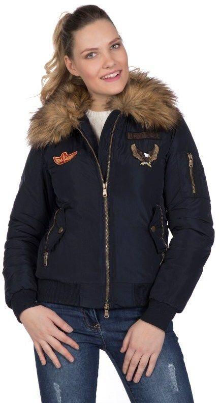 54da89429 Giorgio Di Mare Dámska zimná bunda GI1401017_Navy značky Giorgio Di Mare -  Lovely.sk