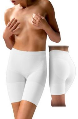Controlbody Dámske push-up nohavičky PUSH UP SHAPING SHORT 410597 FIRM COMPRESSION WHITE