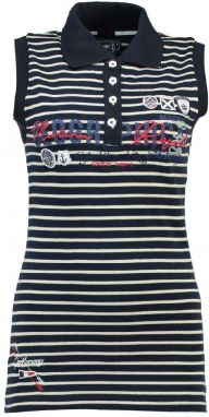 Geographical Norway Dámsky polo top KAPILLON SS LADY 100 - 2600_Navy / Off White