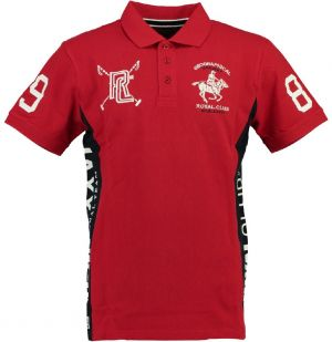 Geographical Norway Pánske polo tričko KEVIAN SS MEN 415_Red / Navy