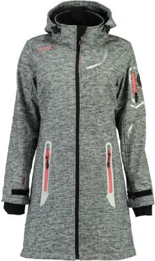 Geographical Norway Dámska softshellová bunda timael lady 007_Dark Grey