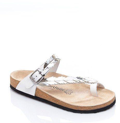 7c1e63db934f COMFORTFÜSSE Dámske sandále JOLI D01-0208 White-Silver značky COMFORTFÜSSE  - Lovely.sk