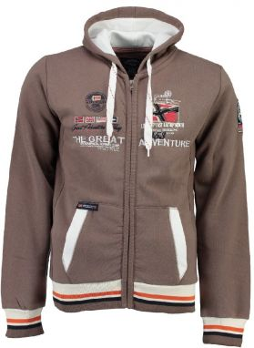 Geographical Norway Pánska mikina Grenouille MEN 100_Taupe