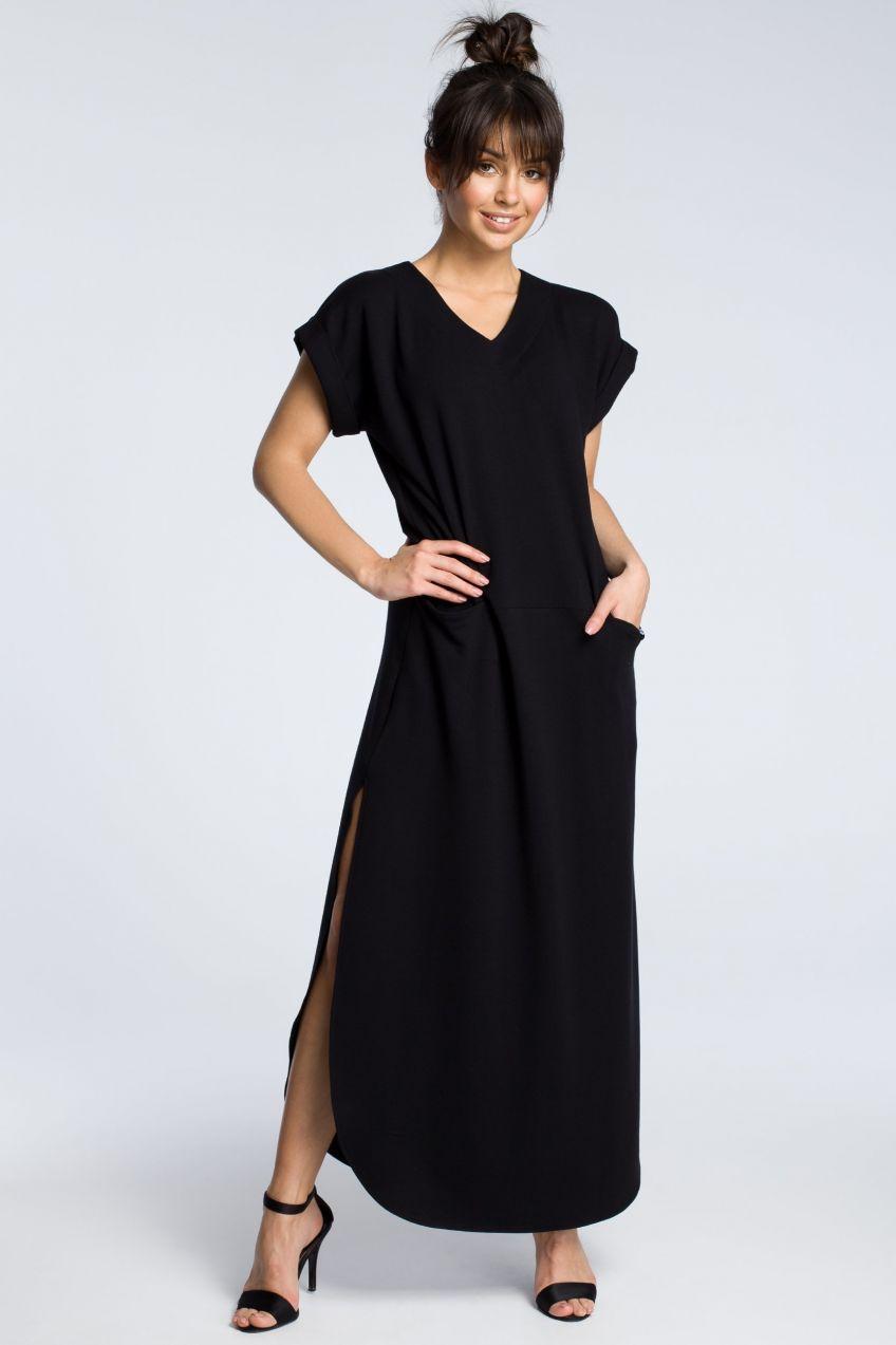 1f32ed9bfa3e BeWear Dámske šaty b065 black značky BeWear - Lovely.sk