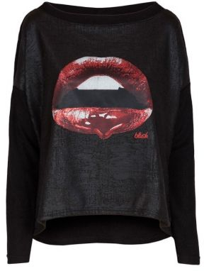 Blue Shadow Dámsky top sweater_red_lips