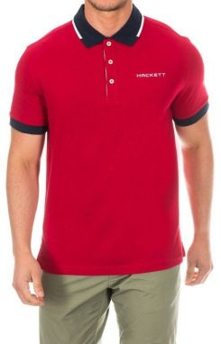 Hackett London Pánske polo tričko HMX1005D-Jester-ATLANTIC
